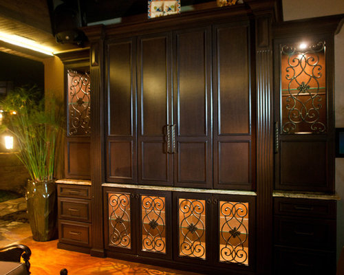 Cabinet Door Insert Ideas, Pictures, Remodel and Decor