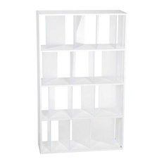 Sundial Bookcase by Kartell, White and Satin