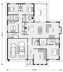 Floor Plans For A North East Facing Block Houzz Au