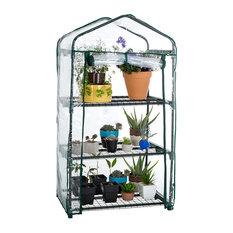 "Pure Garden 3 Tier Mini Greenhouse With Cover 27.5x19x50"""