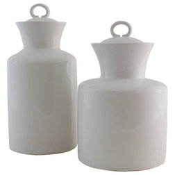 Transitional Kitchen Canisters And Jars by Elandecor