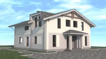 Гараж с жилыми помещениями на УШП