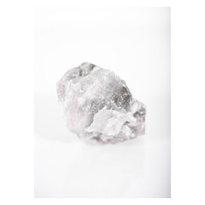 Crystal White Wall Poster, 42x30 cm