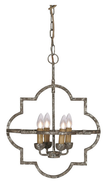 Chandelier Entrance Awesome Quatrefoil Entry Way Pinterest