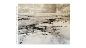 Commission Art | Beach View ii | Kylie Fogarty
