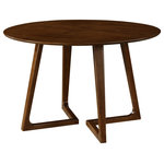 New Pacific Direct - Paddington Round Dining Table - A small detail can make a big difference, a point that's proven by the unique base design of Paddington dining table. It's a 47-inch-round design that accommodates four comfortably.