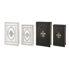 Book Boxes, 4-Piece Set