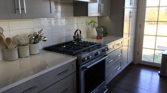 Lutheran Parsonage - Kitchen Range Elevation