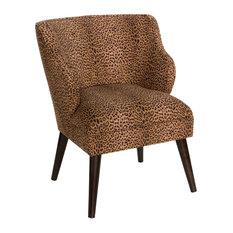 Modern Chair, Cheetah Earth