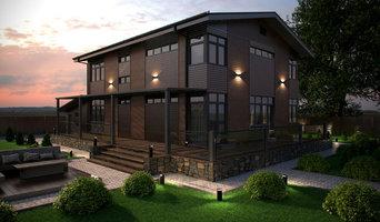 Частный двухэтажный жилой дом
