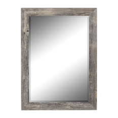 "Coastal Gray Wall Mirror, 29.75""w X 41.75""h"