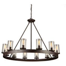 Industrial Chandeliers by ARTCRAFT Lighting