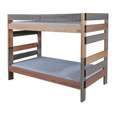 Twin Bunk Bed in Multicolor