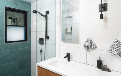 Bathroom of the Week: New Layout and Clean Look in 52 Square Feet