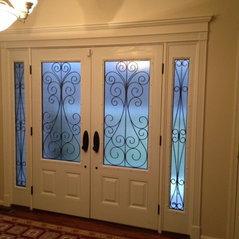 FIBERGLASS WITH WROUGHT IRON GLASS DESIGN & TAYLOR DOOR llc - Paterson NJ US 07504 - Home