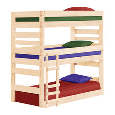 50 Most Popular Natural Wood Bunk Beds For 2019 Houzz