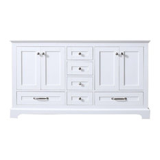 Dukes 60-inch White Vanity Cabinet Only