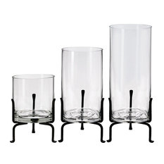 Couronne Co. London Three Recycled Glass Vase Set