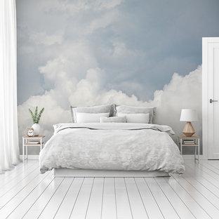 トゥーリンのコンテンポラリースタイルのおしゃれな寝室のレイアウト