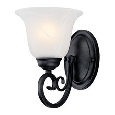 Hardware House - Hardware House Tuscany Wall Sconce Textured Black - Wall Sconces  sc 1 st  Houzz & 50 Most Popular Black Wall Sconces for 2018 | Houzz