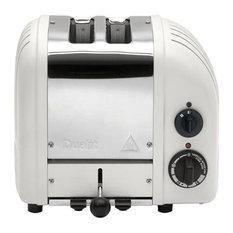 Dualit Classic Vario AWS 2 Slot Toaster, Matte Porcelain