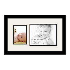 ArtToFrames Collage Photo Frame  with 1 - 8x10, 5x7 Openings