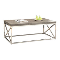 WoodTop Metal Coffee Tables Houzz