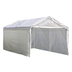 Canopy Enclosure Kit 10'x20' White, Canopy Cover and Frame Sold Separately