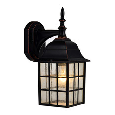 Hardware House Oil Rubbed Bronze Outdoor Patio Porch Exterior Light Fixture  Outdoor Wall