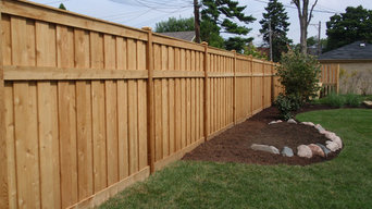 Board on Batten Traditional Wood Fencing