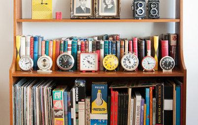 Tendens i tiden: Indret med vintage-ure i boligindretningen