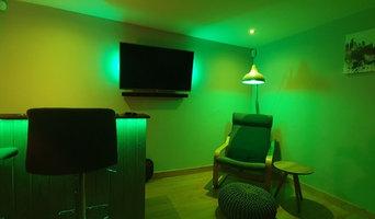 Mancave Smart Lighting