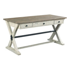hammary furniture hammary reclamation place trestle desk desks and hutches