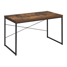 Acme Bob Desk, Weathered Oak and Black