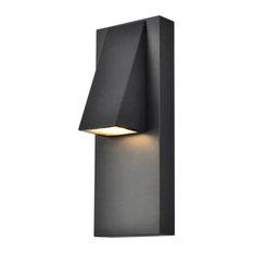 Trendy Fare LED Wall Sconce (Black), Black