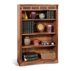 Sunny Designs Sedona Mindi Bookcase With Light Brown Finish 2952RO2-48