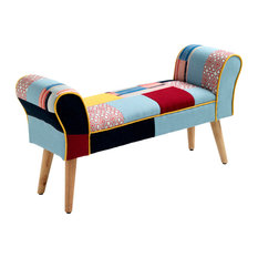 Kaleidos Upholstered Bench