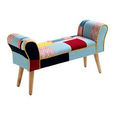 Kaleidos Upholstered Bench