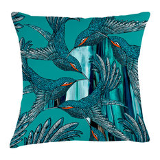 Paradise Velvet Cushion, Dimensions