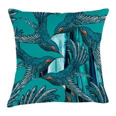 Arley House - Paradise Velvet Cushion, Dimensions - Scatter Cushions
