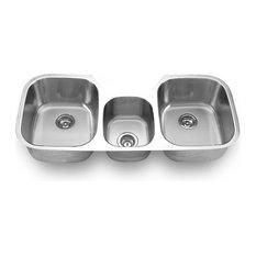 Undermount Triple Bowl Sink