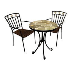 Orba Bistro Table With Murcia Chairs, 3-Piece Set