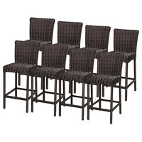 TK Classics TKC205b-BS-4x Set of 8 Venice Barstools with