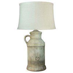 Farmhouse Table Lamps by HedgeApple