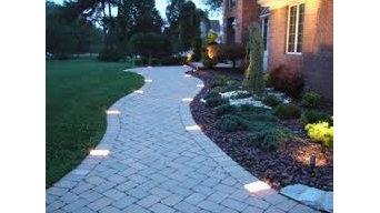 Paver Walkway Lighting
