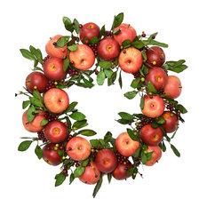 "Fantastic Craft Inc - 23"" Apple Wreath - Wreaths and Garlands"