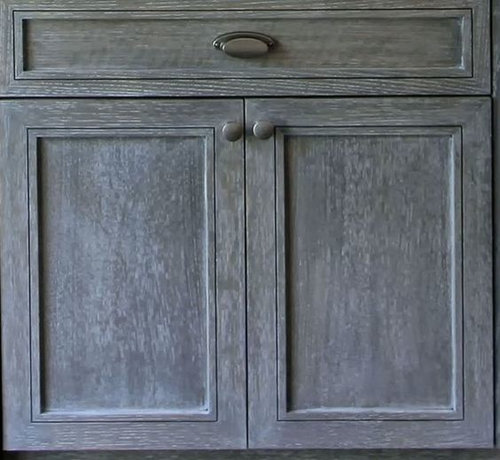 """22 Gel Stain Kitchen Cabinets As Great Idea For Anybody: How To Get From Boring Oak To """"cerused Oak"""" Finish For"""