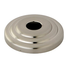 "Kingston Brass Plumbing Parts 3"" Diameter Decor Escutcheon, Brushed Nickel"