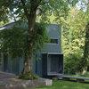 Architektur: Ein verglastes Holzhaus am Bodensee