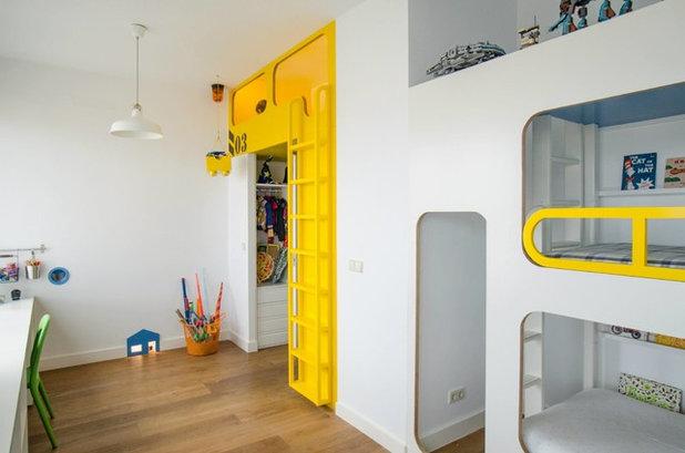 kran, lego, guckloch: zwei kreative kinderzimmer für drei brüder - Kinderzimmer Fur Zwei